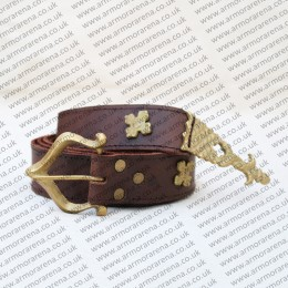Knights Leather Belt