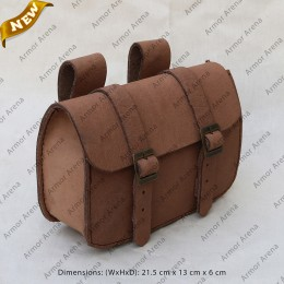 infantry Leather Belt Bag