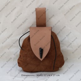 Suede Leather Belt Bag