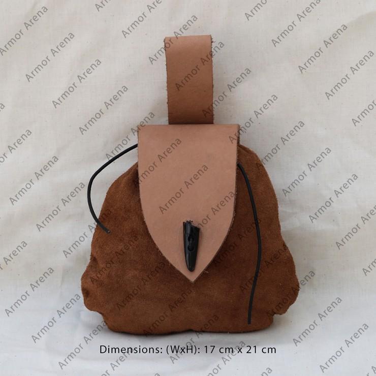 Suede Leather Belt Bag