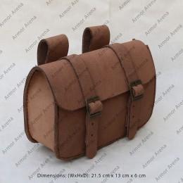 infantry Leather Belt Bag
