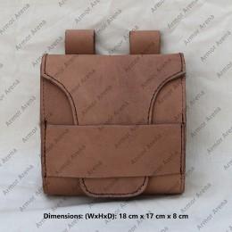 "Leather Belt Bag ""Rollo"""