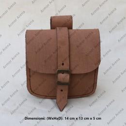 Belt Bag with Brass Buckle