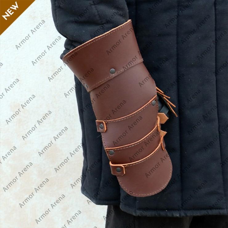 Vintage Leather Gauntlets