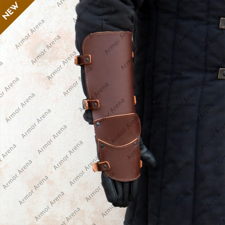 Ecbert Leather Gauntlets