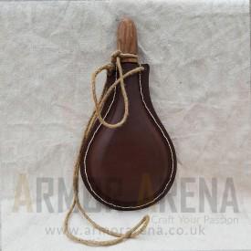 Leather Water Bottle - II