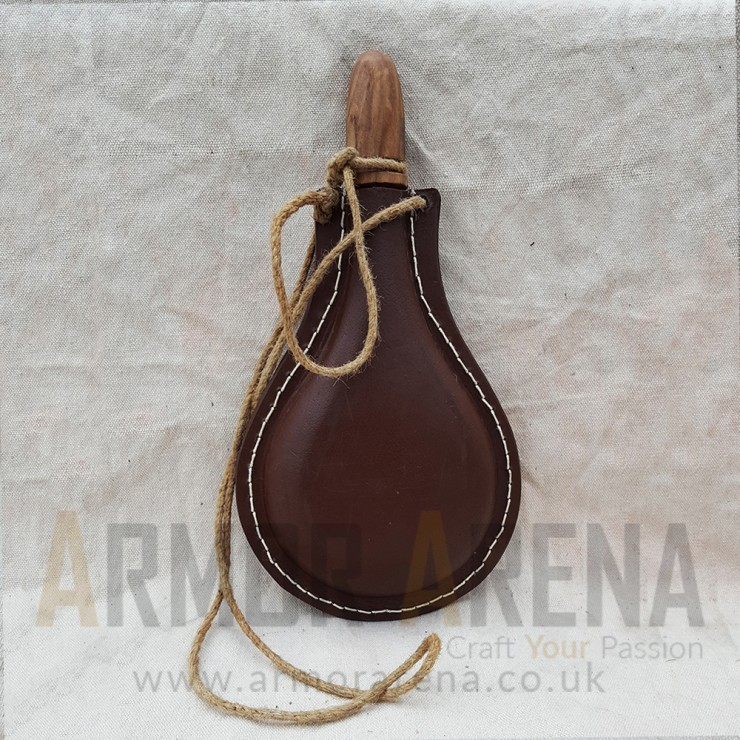 Leather Water Bottle - 2