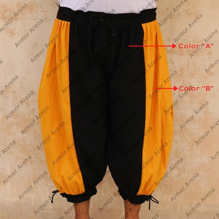 Canvas Short Pant Bicolor