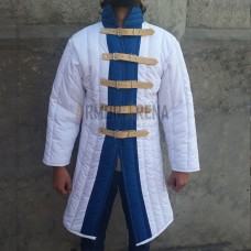 Long Sleeves Gambeson with Straight Bottom in Two Colour