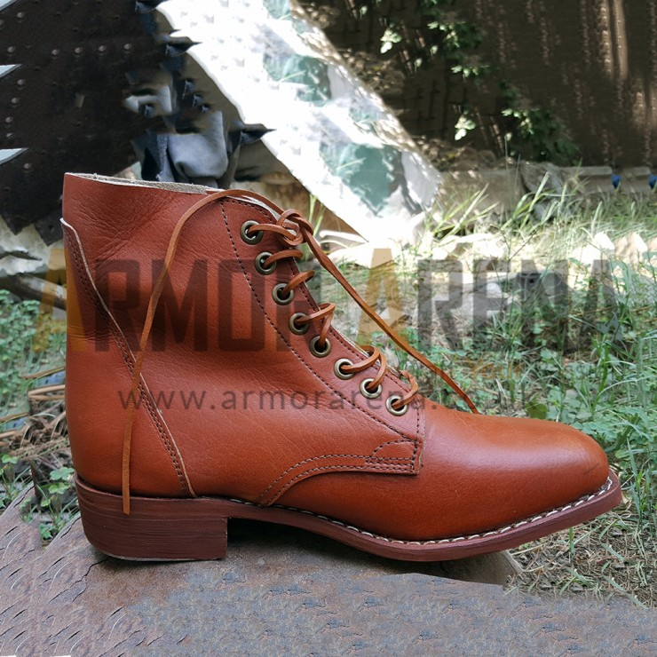 Civil War Lace up Military Boots