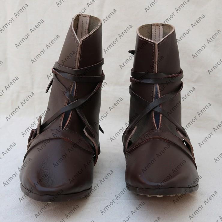 Oseberg Style Viking Boots