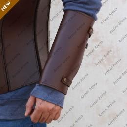 Melina Leather Bracers