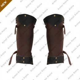 Ludwig Leather Greaves