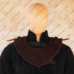 Lothar Leather Gorget