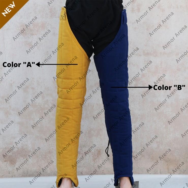 Bicolor Gambeson Legs