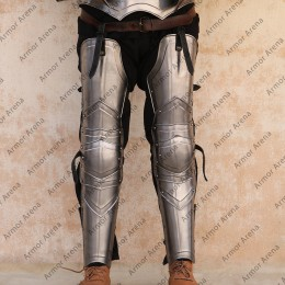 Knight Leg Guard with Backplate