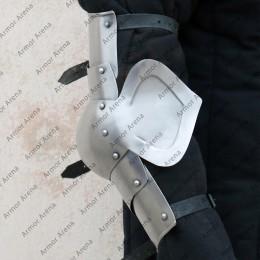 Gothic style half Arm Guard