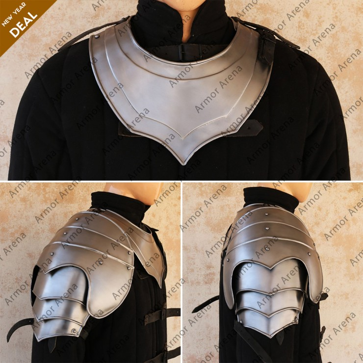 Hogwarts Shoulders & Gorget