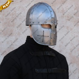 Spangenhelm with Faceplate
